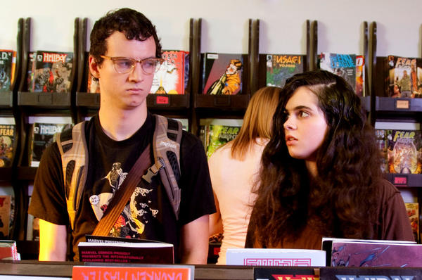 "Gaelan Connell and Vanessa Marano as Payton and Samantha in ""The Secret Lives of Dorks."""