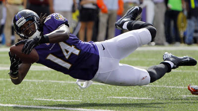 Ravens' Marlon Brown says neck injury isn't serious, will pract…