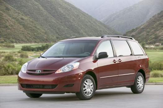 Toyota will recall 615,000 Sienna minivans, including this 2008 model, to fix a gearshift problem than can cause the vehicle to roll away unexpectedly.