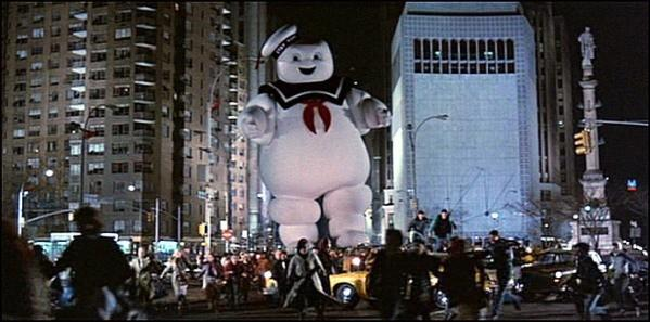 "The Marshmallow Man is back! ""Ghostbusters"" will be shown at Lake Theatre in Oak Park on Saturday, Oct. 19 at 10 A.M."