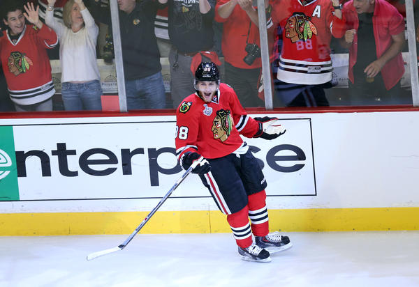 Patrick Kane is cool with his Blackhawks being on the cover of Sports Illustrated, but it's often a harbinger of doom.