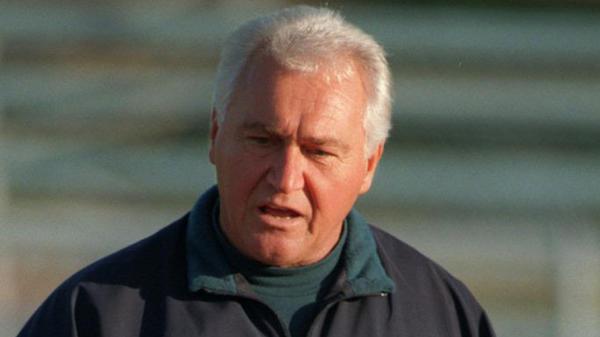 Former Calvert Hall boys soccer coach Bill Karpovich