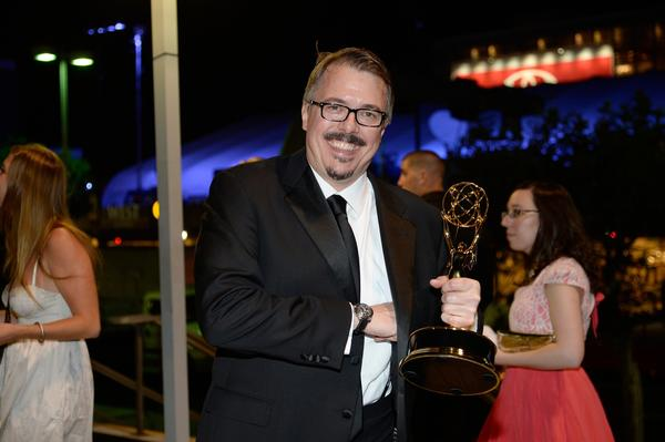 Producer Vince Gilligan attends the Governor's Ball after the Emmys.