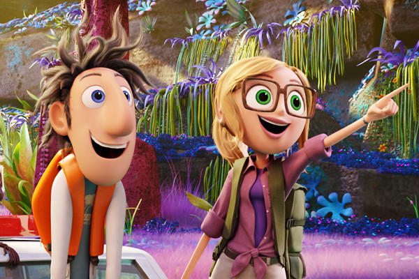 """""""Cloudy with a Chance of Meatballs 2"""" will likely be the No. 1 film at the box office this weekend, beating """"Don Jon,"""" """"Rush"""" and """"Baggage Claim"""""""