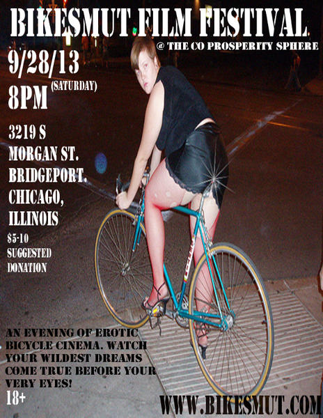 The Bike Smut film festival kicks of Saturday at 8 p.m. in Bridgeport.