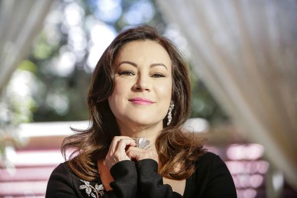 Actress Jennifer Tilly at the Four Seasons hotel in Beverly Hills.