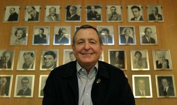 Tom Sherak, shown last year, was named by Los Angeles Mayor Eric Garcetti as L.A.'s top film advisor.