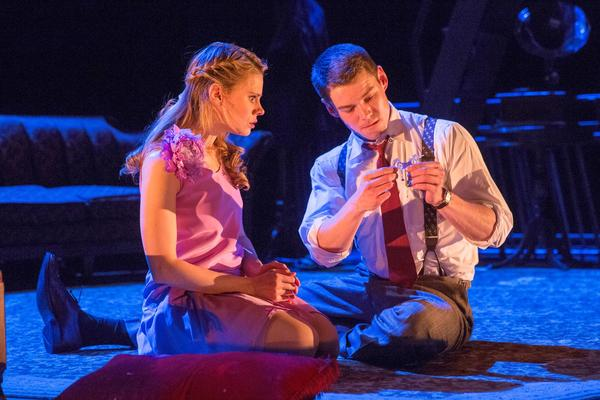 "Celia Keenan-Bolger and Brian J. Smith in ""The Glass Menagerie"" on Broadway."