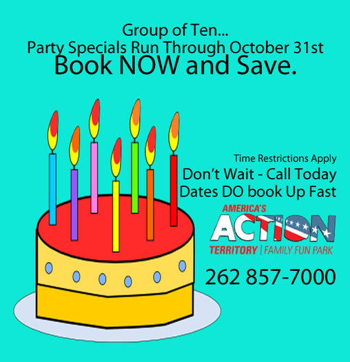 Birthday Party Savings on The family fun parks best selling party ...