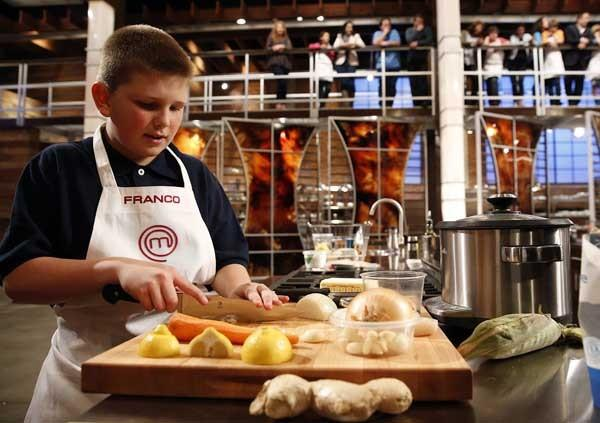 "Kids in the kitchen are featured this season on ""MasterChef"" on Fox."