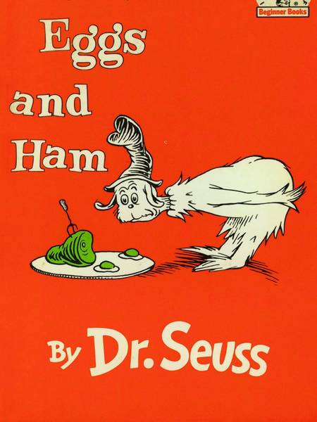 "On Tuesday, during his 21-hour marathon ""filibuster"" against Obamacare, Sen. Ted Cruz read aloud to his daughters back home the Dr. Seuss book ""Green Eggs and Ham."""