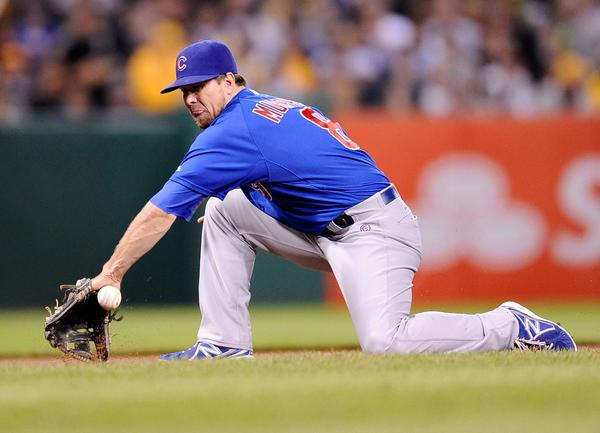 Cubs infielder Donnie Murphy would be in Chicago for the rest of his career, if the team doesn't mind.