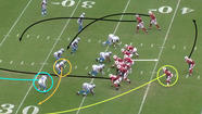 Wheel route could exploit holes in Lions defense