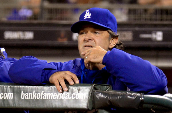 Dodgers Manager Don Mattingly says he thinks there's an upswing in violent behavior, not just among sports fans, but all over the world.