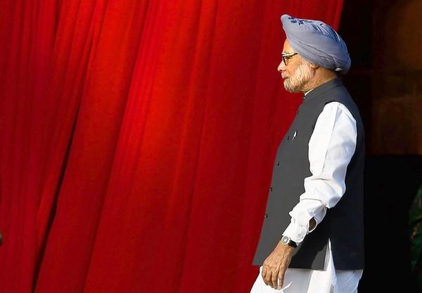 Indian Prime Minister Manmohan Singh leaves a tomb-restoration ceremony in New Delhi this week. He and President Obama will hold talks in Washington on Friday.