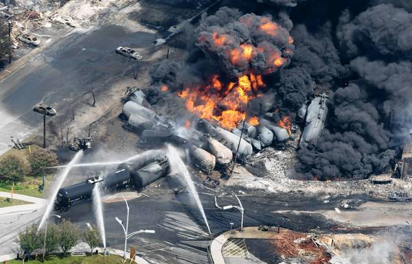 Oil train disaster