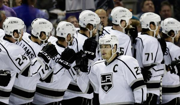 Kings captain Dustin Brown expects to be on the ice for the team's season opener against the Minnesota Wild on Oct. 3.