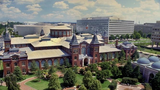 The Smithsonian Arts and Industries Building in Washington has been identified as a possible site for a National Museum of the American Latino. (Smithsonian Institution)