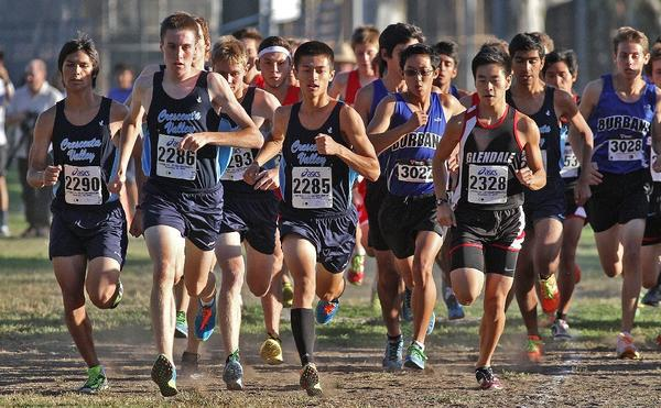 Crescenta Valley High cross-country finished runner-up to Arcadia in both boys and girls portions of the first Pacific League meet of the season.