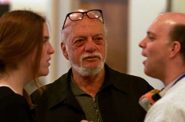 "A retrospective titled ""Prince of Broadway"" celebrating Harold Prince's work is to open in Japan in 2015. In this photograph, Prince, center, is in a rehearsal for ""The Flight of the Lawnchair Man."""