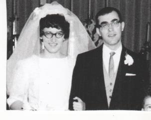 Mr. and Mrs. Jerome Hughes, 1963