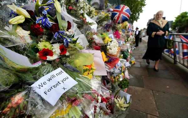Tributes for slain British soldier Lee Rigby