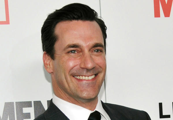 """Mad Men"" star Jon Hamm at the season six premiere of the drama series at the Directors Guild of America in Los Angeles."
