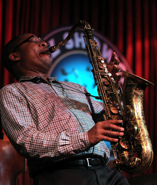 Saxophonist Ravi Coltrane performs with his quartet at the