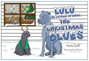 Newport News author Kristin Stiff releases brand-new children's story featuring the lovable cocker spaniel Lulu.