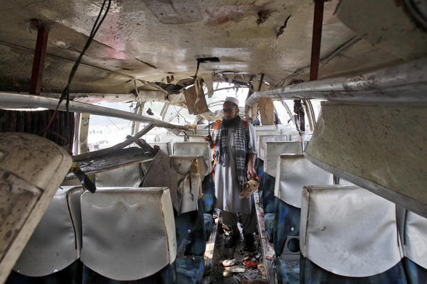 Pakistan bus bombing