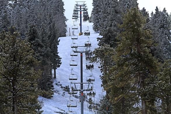 Mountain High ski area looks to college kids to spread the word about the resort in Wrightwood in the San Gabriel Mountains in San Bernardino County.