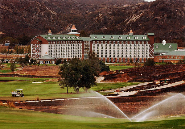 The Barona Resort and Casino at the Barona Indian Reservation in eastern San Diego County in 2003.