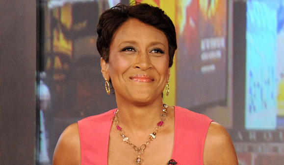 "Robin Roberts is co-anchor of ABC's ""Good Morning America."""