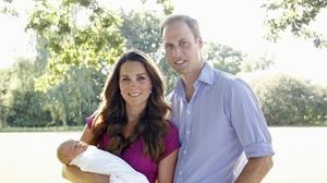 Prince George's christening set; Will, Kate get joint coat of arms