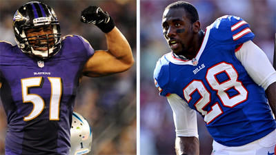Preston's key matchups for Ravens-Bills