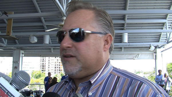Marlins President of Baseball Operations Larry Beinfest revealed Friday afternoon that owner Jeffrey Loria fired him.