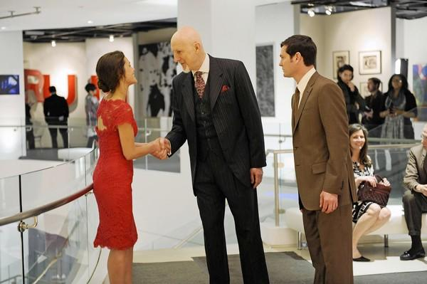 """Hannah Ware, James Cromwell, center, and Henry Thomas star in """"Betrayal."""""""