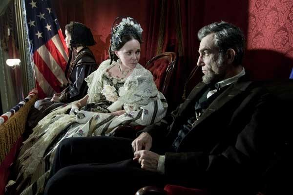 "Sally Field and Daniel Day-Lewis in ""Lincoln"" on Showtime."