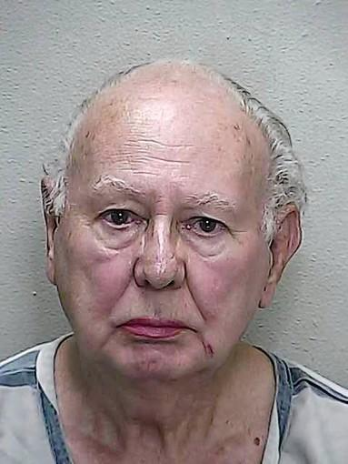 Manuel J. Rodriguez, 80, of Ocala had $800 in his wallet but tried to steal a purse and other items from a Walmart while dressed as a woman, deputies said.