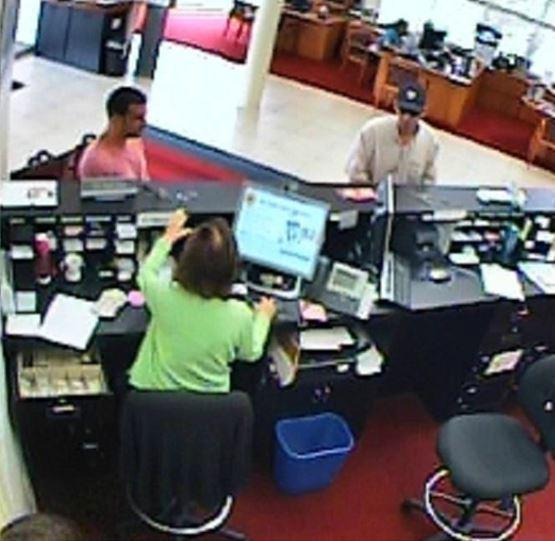 Deputies are searching for a man who tried to rob a West Boca Raton bank on Monday.