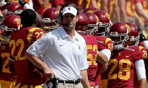 USC Coach Lane Kiffin still has plenty of critics despite the team's 2-1 start.