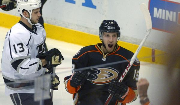 Ducks center Nick Bonino could be poised for a breakout season with the team.