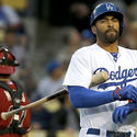 Matt Kemp struggles