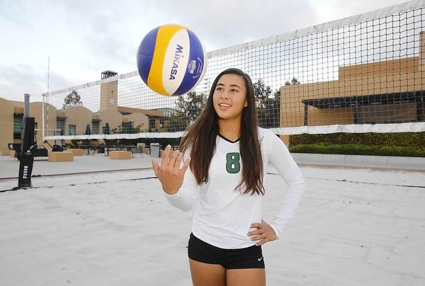 Sage Hill School junior volleyball player Kekai Whitford is the Daily Pilot High School Athlete of the Week.