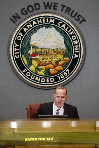 Mayor Tom Tait's positions on controversial issues have so angered former allies that he has become a lone wolf, constantly at odds with the rest of the City Council. Last year, the council voted to slash his staff budget.