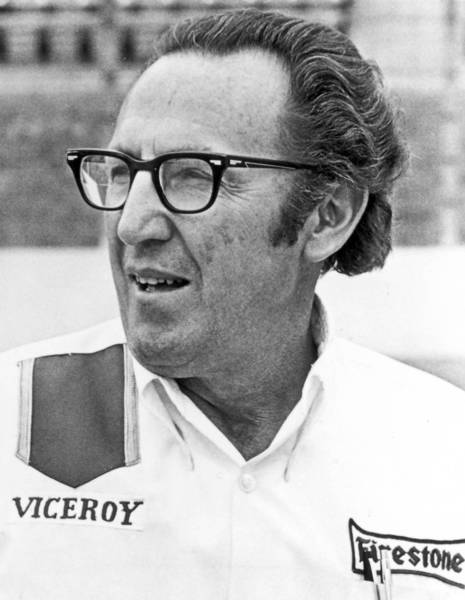 George Bignotti, shown in 1972, was chief mechanic for a record seven Indy 500 winners.