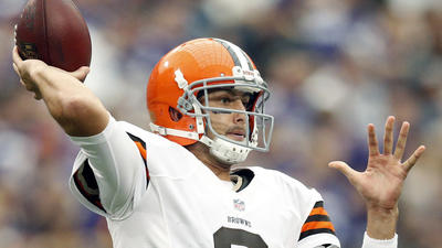 AFC North notebook: Hoyer's living the dream as Browns QB