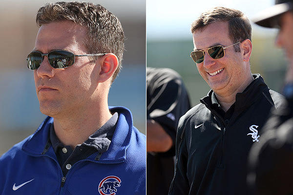 GMs Theo Epstein and Rick Hahn.