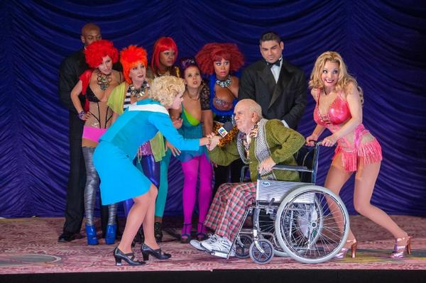 "A scene from the New York City Opera's production of ""Anna Nicole"" at the Brooklyn Academy of Music."
