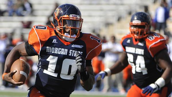 Morgan State QB Seth Higgins